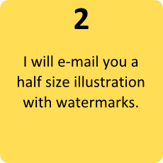 2 - I will e-mail you illustration with watermark