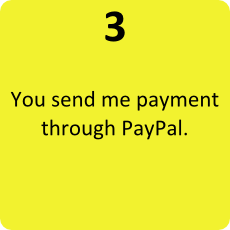 3 - Send me payment by PayPal