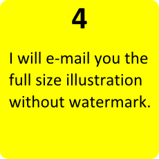 4 - I will send you the illustration without watermark